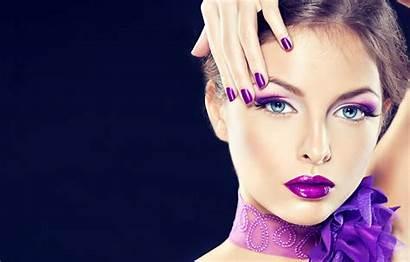 Makeup Beauty Lilac Portrait Hand вконтакте Telegram