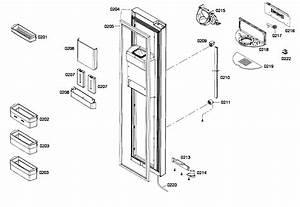 Freezer Door Diagram  U0026 Parts List For Model B22cs80sns01