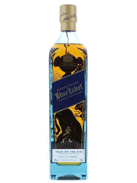 johnnie walker blue label  year  pig le cl