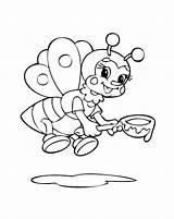 Coloring Control Bumble Bee Pest Bees sketch template