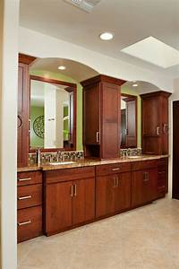 Contemporary, Master, Bathroom, With, Skylight, By, Morey