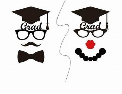 Graduation Props Booth Printable Party Grad Photobooth