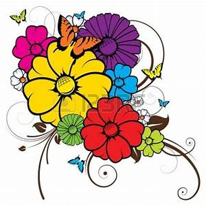 Clip Art Flowers And Butterflies - Cliparts.co