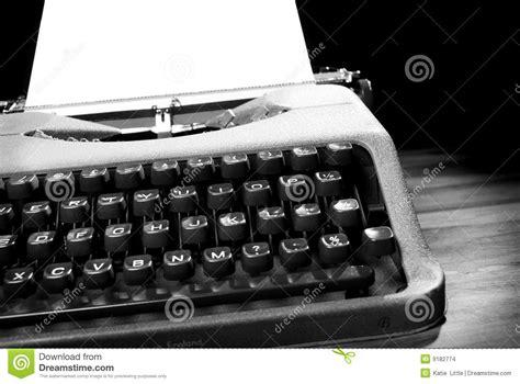 black and white vintage typewriter macro letters 8 x 12 typewriter in black and white stock images image 44059