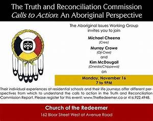 TORONTO: The Truth and Reconciliation Commission Calls to ...