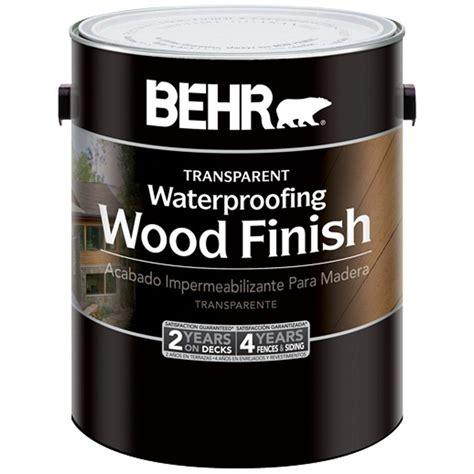 behr deck cleaner home depot behr 1 gal redwood transparent wood finish waterproofing