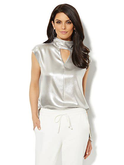 silver blouse 100 39 s silver blouses tops silk blouses