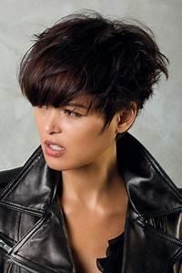 Comment Se Couper Les Cheveux Court Toute Seule : coiffure courte rock femme cheveux courts sur ~ Melissatoandfro.com Idées de Décoration