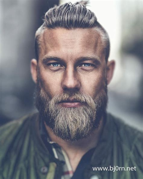 The viking beard is the excellent blend of style and class. Stian Viking by Bjorn Christiansen #beard | If I was a fictional character | Pinterest | Vikings ...