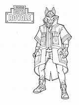 Fortnite Coloring Printable Pages Sheets Soldier sketch template