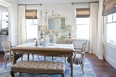 Swag Curtain Ideas For Living Room by New Curtains For The Dining Room Cedar Hill Farmhouse