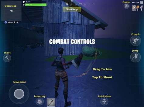 fortnite mobile combat tips hints  cheats