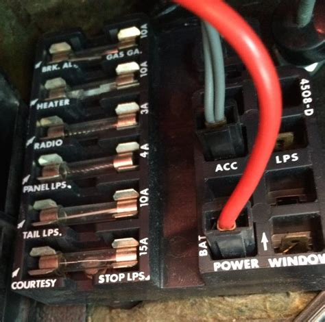 67 Chevy Fuse Box by 65 Ammeter Inop Corvetteforum Chevrolet Corvette