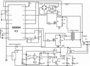 Shows The Complete Circuit Diagram Of The Pwm Inverter