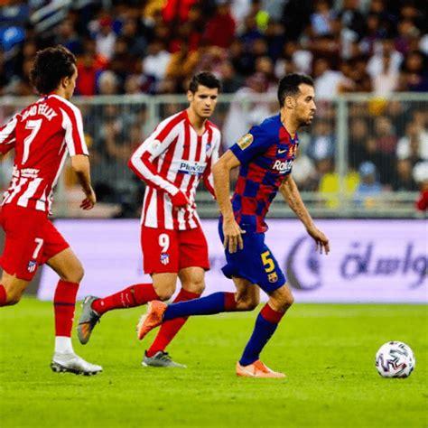 Hora y canales en Guatemala del partido Atlético de Madrid ...