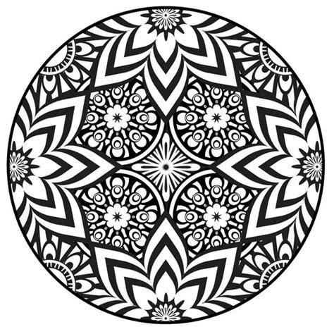 articoli simili  mandala da colorare pagina  instant  stampabili da colorare fiori