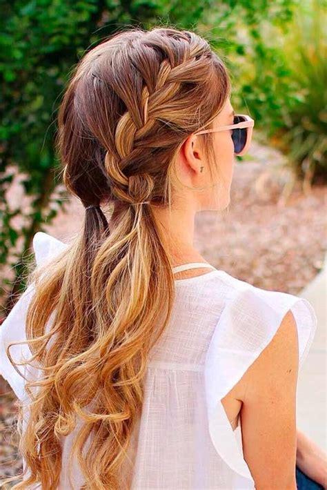 cute quick hairstyles ideas  pinterest cute