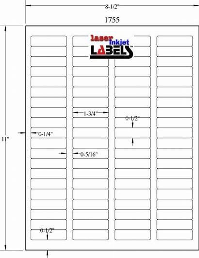 Labels Label Template Avery Inkjet 75 Templates