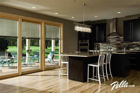 pella 174 designer series 174 patio door transitional
