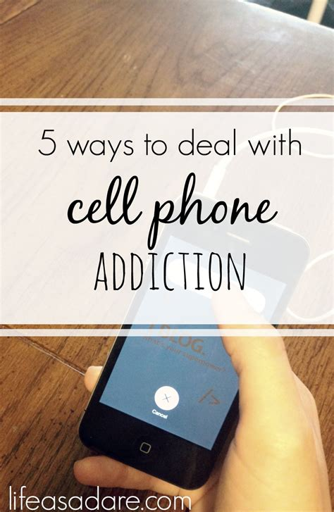 how to to phone getting a cell phone addiction as a