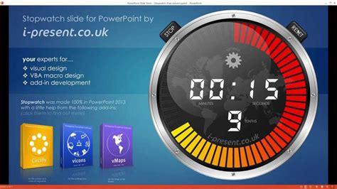 stopwatch   powerpoint youtube