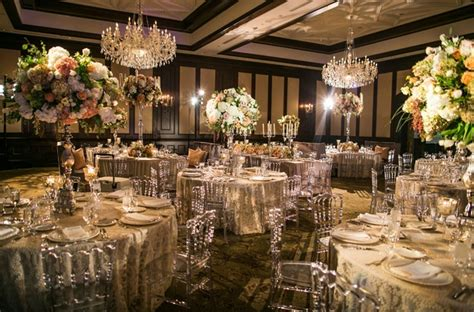 elegant alfresco ceremony ballroom reception  dallas