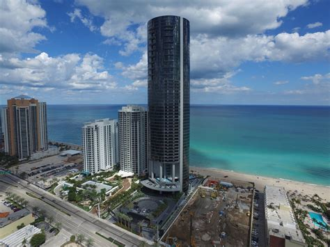 porsche designs lavish residential tower  miami lifts