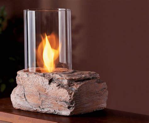 real flame ledgerock tabletop firepit  green head