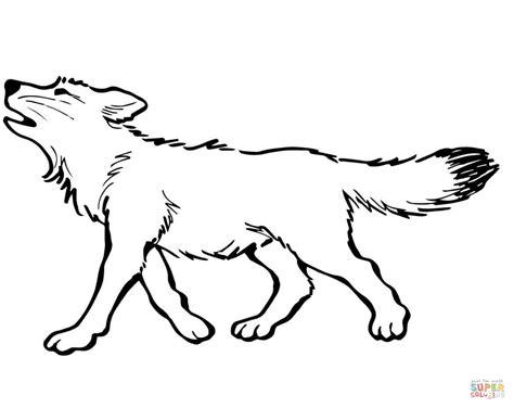 En De Wolf Kleurplaat by Wolf Coloring Pages Bestofcoloring