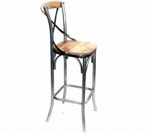 Chaise De Bar Tolix : chaise de bar tolix free tabouret de bar tolix jaune chaise pas a dossier rouge couch with ~ Teatrodelosmanantiales.com Idées de Décoration