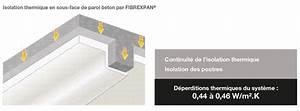Isolation Thermique Sous Carrelage : isolation thermique en sous face de paroi beton projiso ~ Dailycaller-alerts.com Idées de Décoration