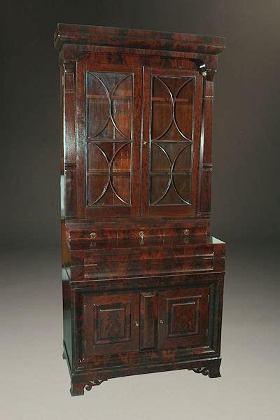 early  century american empire antique bookcase