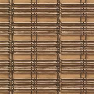 papier peint motif store bambou marron lutece pp