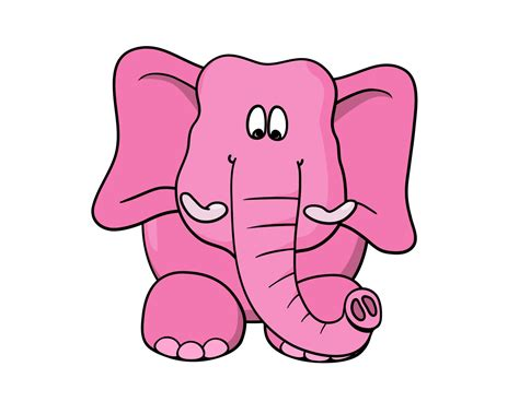 animals zoo park cartoon elephant cute cartoon elephant