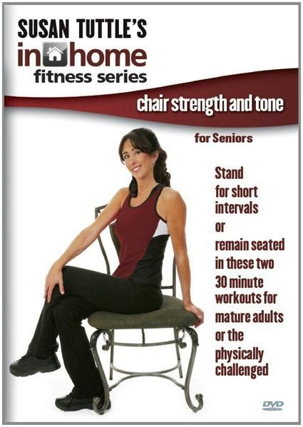 strength seniors exercises chair fitness tone susan workout tuttle exercise senior dvd training muscle loss joints program collage