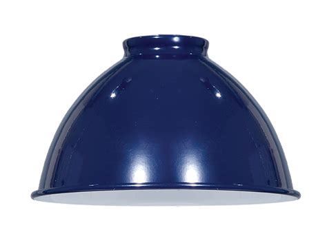 industrial style metal l shades blue enamel industrial style metal dome shades 08350bl b