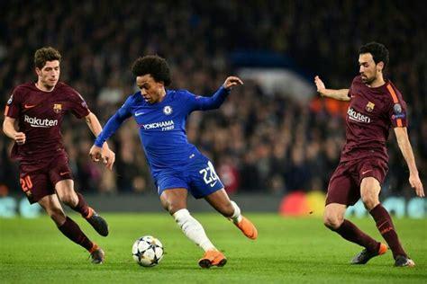 Laga Ketat, Chelsea vs Barcelona Berbagi Skor 1-1 ...