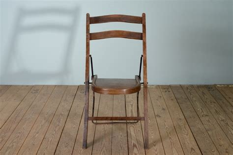stakmore folding chairs antique edwardian antique folding chairs by stakmore 37