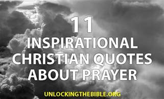 Christian Quotes About Prayer