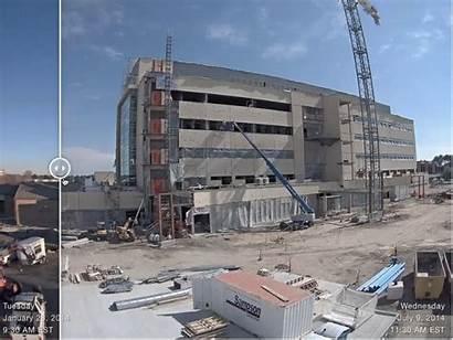 Lapse Compare Construction Metro Cameras Progress Side