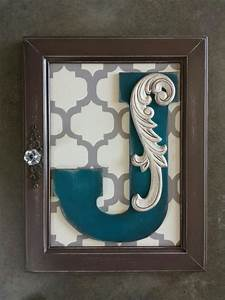 197 best cabinet door crafts images on pinterest With kitchen cabinets lowes with initial wall art monogram
