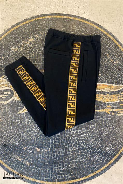 Fendi black jersey trousers - JAGUAR MODE