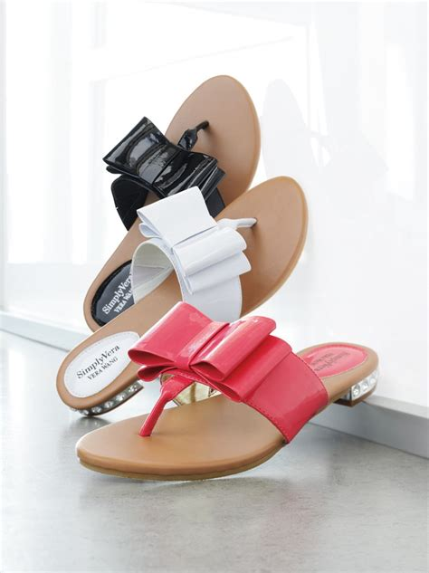 fashionable  easygoing simply vera vera wang sandals
