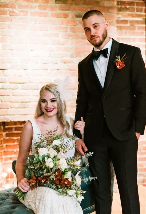 Great Gatsby Themed Wedding POPSUGAR Love &Photo 60