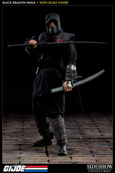 G.I. Joe Black Dragon Ninja Sixth Scale Figure by Sideshow