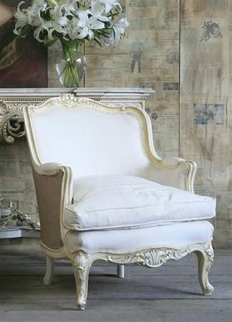 Französischer Sessel Weiß Williamflooring