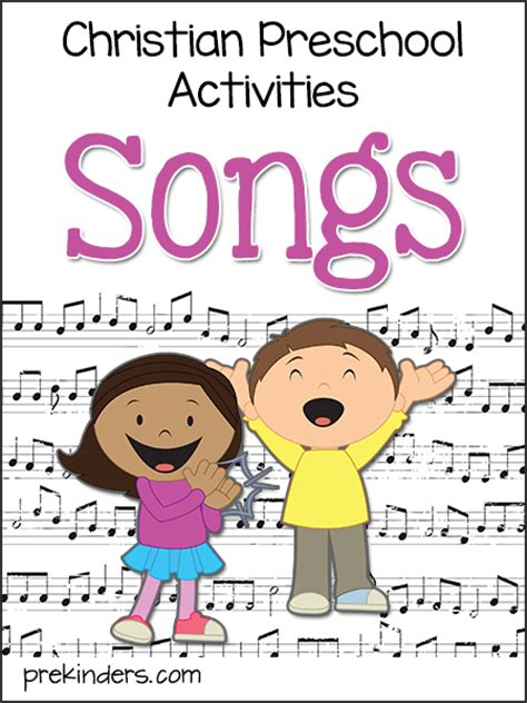 christian preschool activities archives prekinders 550 | songs christian preschool