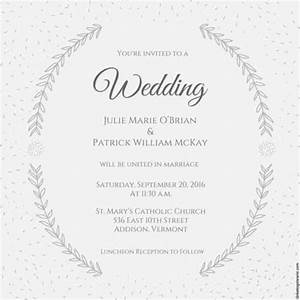 wedding invitation template 74 free printable word pdf With wedding invitations sample pdf