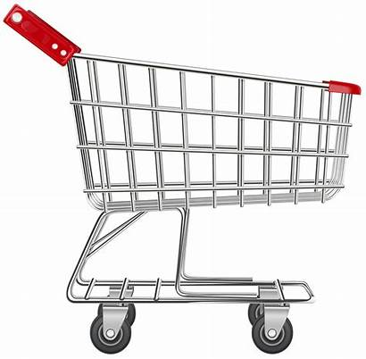Shopping Cart Transparent Clip Supermarket Without Trolley