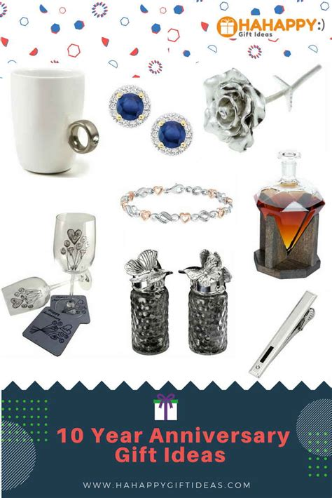 10 year anniversary ideas 10th anniversary gift ideas for a couple gift ftempo